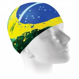 Touca Silicone Brasil FLAG - Speedo