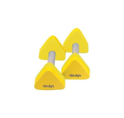 Halter Piramide Hidrolight 1 A 2 Kg - Amarelo