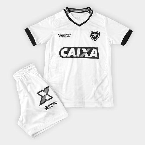Conjunto Infantil do Botafogo ToPPer Jogo 3 - Branca