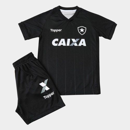 Conjunto Infantil do Botafogo ToPPer Jogo 2 - Preto