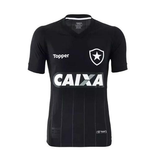 Camisa Juvenil Botafogo Jogo 2 Preta - 2018/19 Original