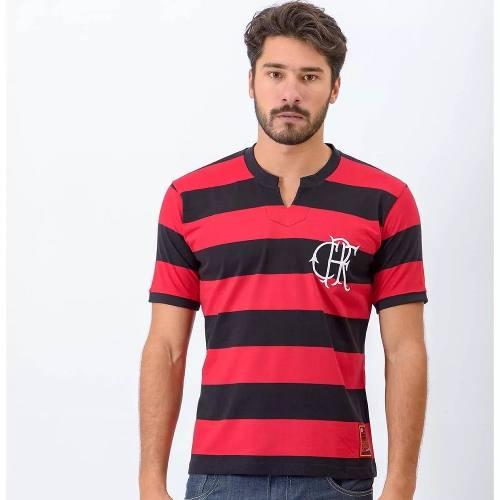 2550cc3de3cef6 Camisa Flamengo Masculina Flatri Crf - Brazline - Titanes Esportes