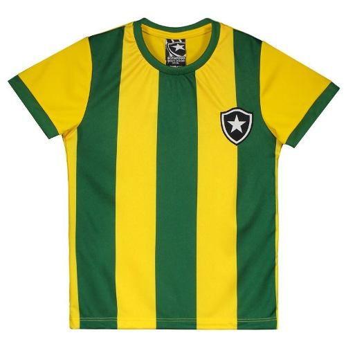 Camisa Infantil Botafogo Brasil - Braziline