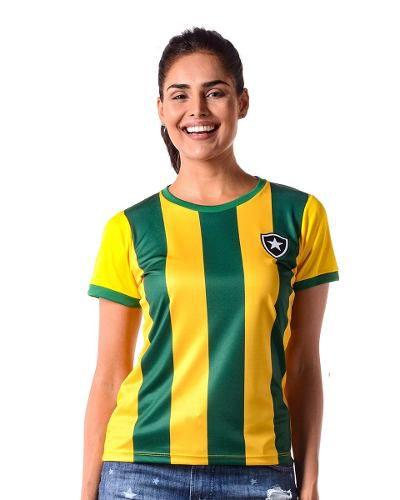Camisa Botafogo / Brasil Feminina Braziline