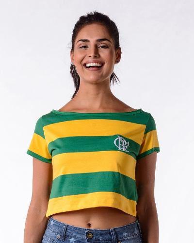 Cropped Brasil / Flamengo Braziline - Feminina