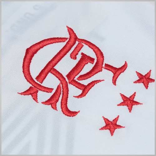 a1877a70ef43ab Camisa Flamengo Masculina Zico Branca - Braziline - Titanes Esportes
