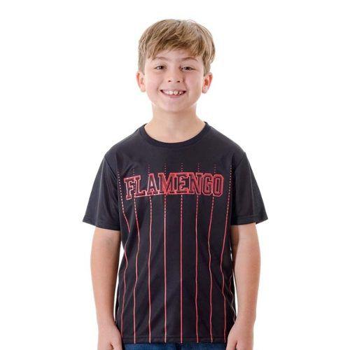 T-Shirt Infantil Flamengo Intus - Braziline