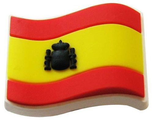 Jibbitz Broche Bandeira Spain - Crocs