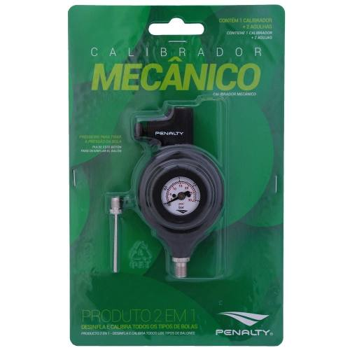 Calibrador Mecânico Penalty para Bola - Preto