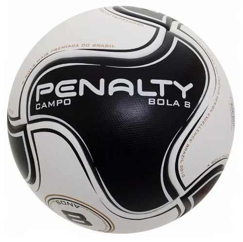 Bola Penalty Campo Bola 8 S11 R2 - Branco / Preto - 2018