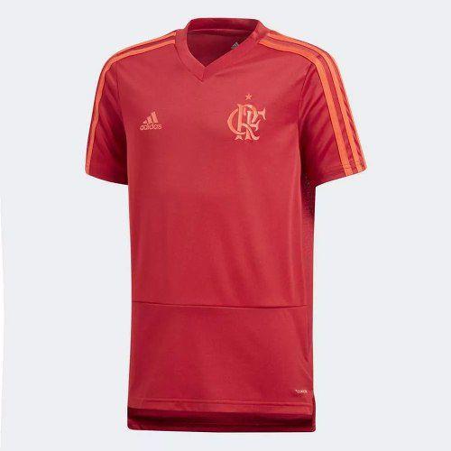 Camisa Infantil Flamengo Treino Adidas 2018 Original