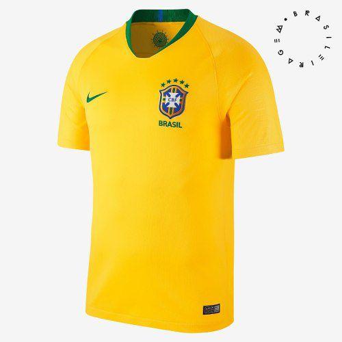 49e28328d Camisa Seleção Brasileira Nike Oficial Original 2018 19 - Titanes Esportes