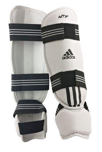 Protetor de Canela com Pé Adidas Taekwondo Wtf - M