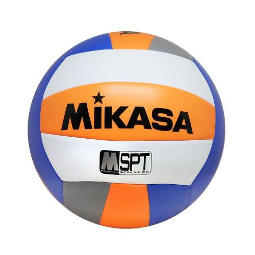 Bola Volei Mikasa Beach Mood Vxs-Bmd Laranja e Azul