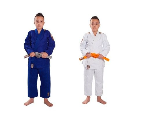 Kimono Trançado Infantil Plus Light Judo - Haganah