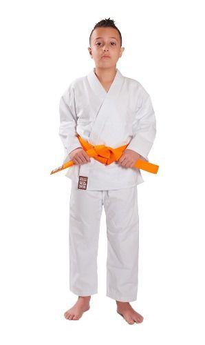Kimono Reforçado Karatê Infantil Branco  Haganah - Titanes
