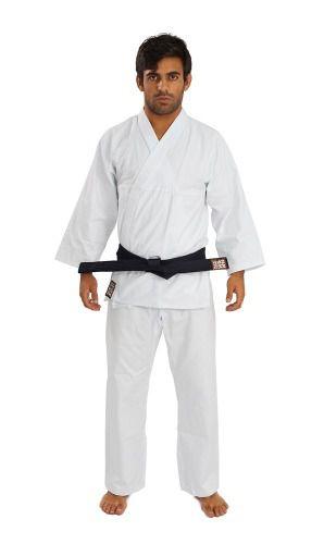Kimono Reforçado Karatê Branco - Haganah