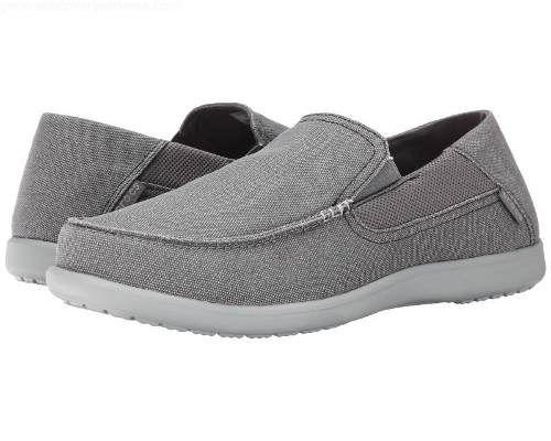 Sapato Crocs Masculino Santa Cruz 2 Original Charcoal\Grey