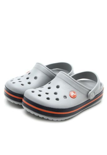 Sandália Crocs Crocband Infantil Light Grey + Nfe