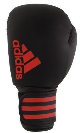 Luva de Boxe Adidas Hybrid 50 - Preto / Vermelho