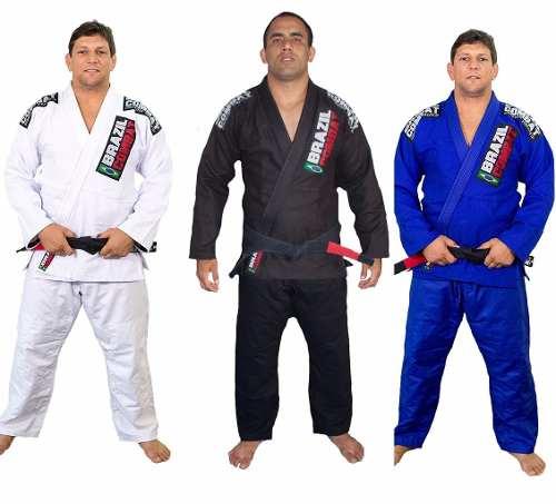 Kimono Trançado Xtra-Lite - Brazil combat