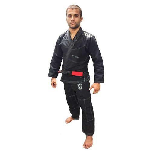 Kimono Elite V4.1 Preto - Brazil combate - A2