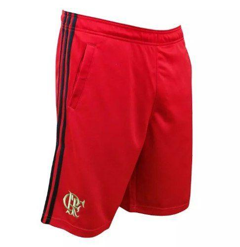 Short Basquete Flamengo Adidas - Ab 3161 - Red / Black