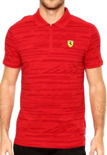 Camisa Puma Ferrari Polo Styfr-Sf Aop Corsa - Original