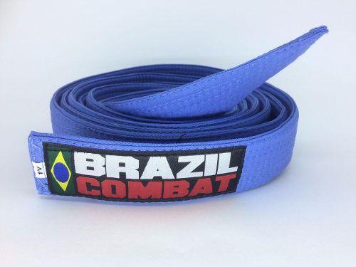 Faixa Especial Brazil combat Azul Sem Ponta - Adulto - A5