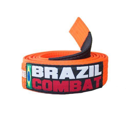 Faixa Especial Brazil combat - Laranja - Infantil - M2