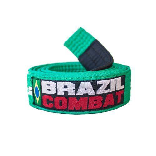 Faixa Especial Brazil combat - Verde - Infantil - M3