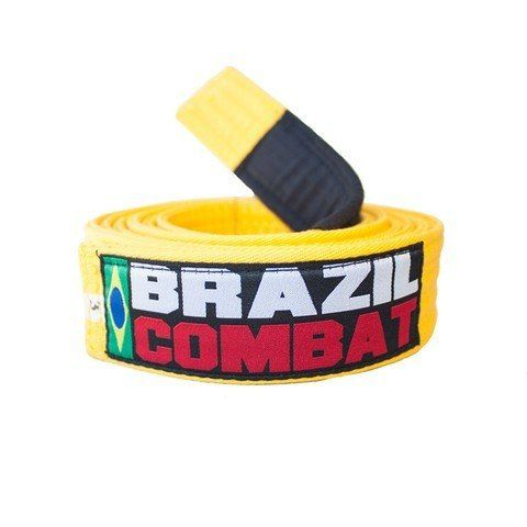 Faixa Especial Brazil combat - Amarela - Infantil - M2