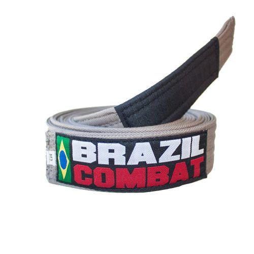 Faixa Especial Brazil combat - Cinza - Infantil - M2