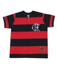 6846a0fd4adf19 Camisa Flamengo Flatri Crf Infantil Ts - Braziline - Titanes Esportes