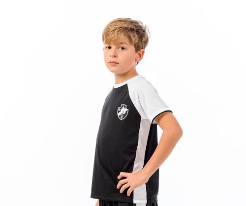 Camisa Infantil Vasco - Less Raglan - Braziline