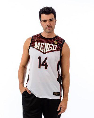 4ccbd937163ef Regata Flamengo Masculina Schmidt - Braziline - Titanes Esportes