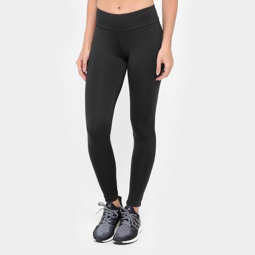 Calça  Legging Ginástica  Ess 3S Adidas - Preto