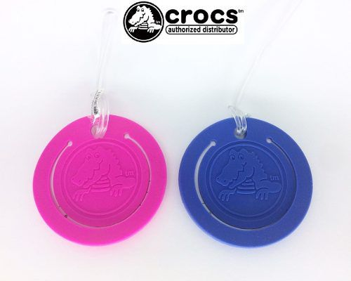 Broche Crocs LuGGage Tag