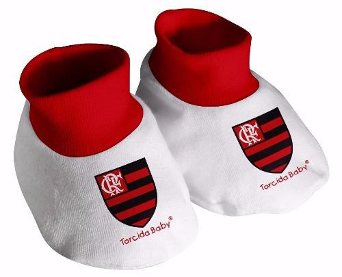 Pantufa Torcida Baby Flamengo - Único