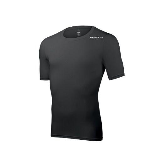 Camisa Penalty Térmica Matis Manga Curta - Preta