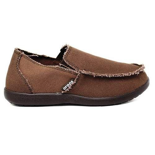 Sapato Crocs Masculino Santa Cruz Original - Espresso + Nfe