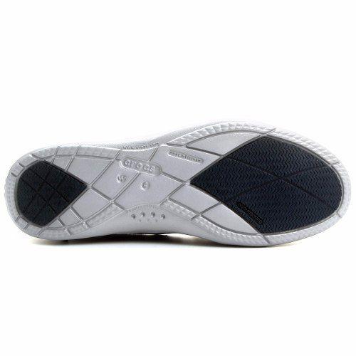 8705ad064 Sapato Crocs Walu Ii Canvas Loafer Feminino Original - Azul - Titanes  Esportes