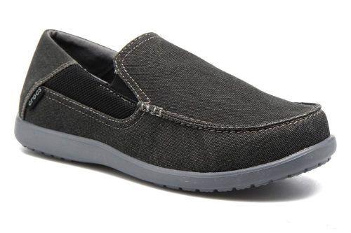 Sapato Crocs Masculino Santa Cruz 2 Original - Blk\Charcoal