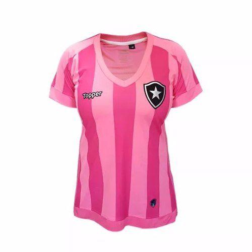 Camisa Botafogo Feminina Oficial Outubro Rosa ToPPer 2018