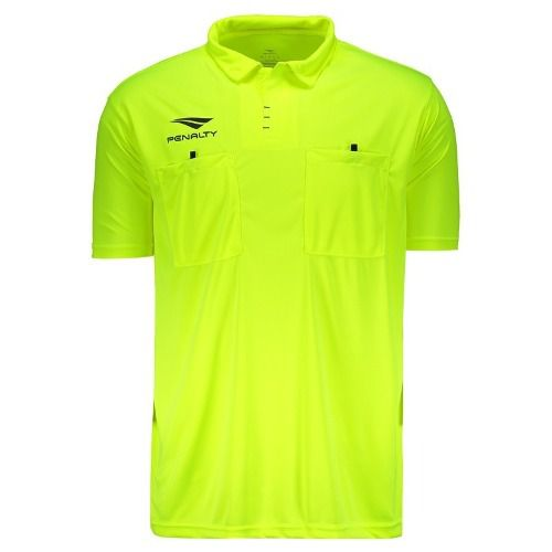 Camisa Polo Penalty Árbitro Vi Amarela / Preta