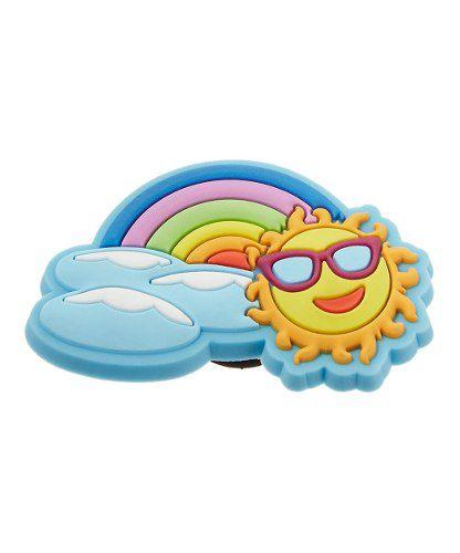 Jibbitz Broche Rainbow Sun Charm Original - Crocs