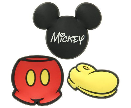 Kit Jibbitz Broche Disney Mickey Mouse Original - Crocs