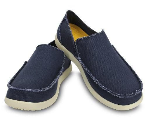 Sapato Crocs Masculino Santa Cruz Original - Navy + Nfe