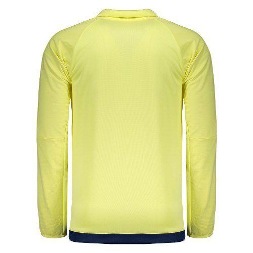 Jaqueta Flamengo Impermeável Cr Adidas - Amarelo