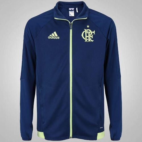 Jaqueta Oficial Adidas Flamengo Crf Trg - Azul